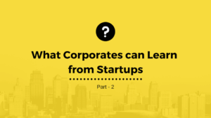 corporates and startups