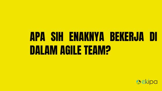 Agile team adalah